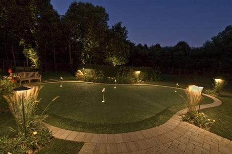 Outdoor Sport Court Lighting Backyard Lighted Putting Green Putting Green Lights Lighting For Putting Green Sport Court