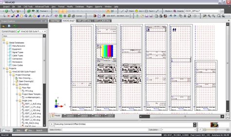 Rack Drawing Software by Object Moved