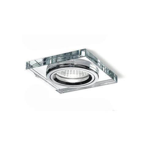 faretti da incasso per controsoffitti faretto incasso ge gfa32 quadrato controsoffitto vetro