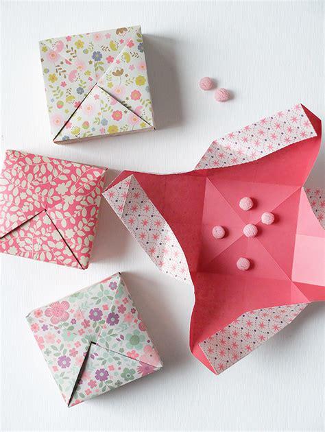 Tutorial Per Origami | scatolina origami video tutorial