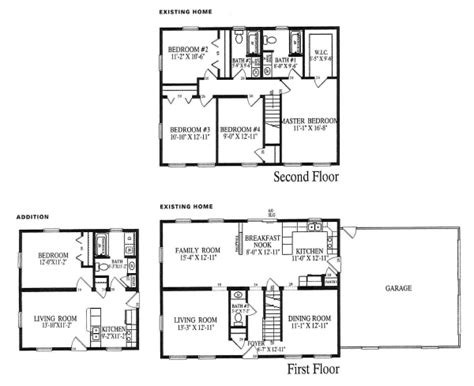 floor plans for in law additions modular in law additions accessible additions echo