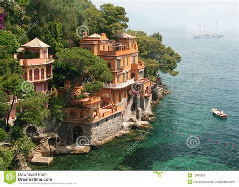 Seaside House Plans seaside villas near portofino italy stock photos image
