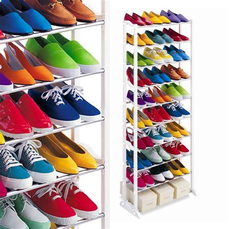 Rak Sepatu Plastik 2 Susun amazing shoe rack rak sepatu susun elevenia