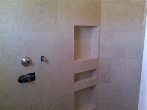 Recessed Bathroom Shelves Bathroom Tile Recessed Shelves Recessed Built In Tiled Shower Shelf S Bath Reno How To Tile
