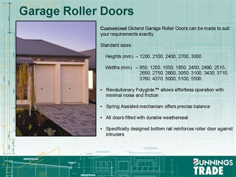 Small Garage Door Sizes Standard Garage And Shed Roller Door Sizes Building The Waldorf 48 With Porter Davis