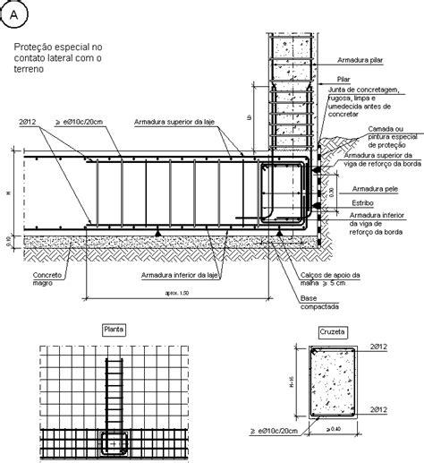 nudo wall base detalhes construtivos cype csl011 a pilar de borda