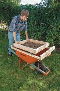 Landscape Rock Sifter How To Make A Soil Sifter Diy Earth News