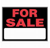 Shop The Hillman Group 15 In X 19 For Sale Sign At