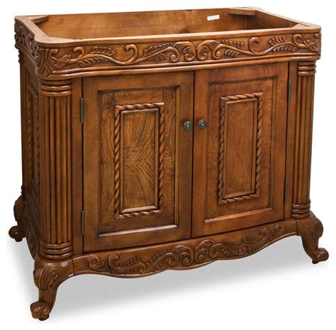 bathroom vanity wood top lyn design van012 wood vanity without top