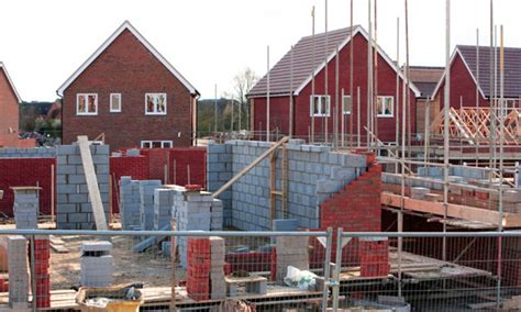 how to build homes house building plummets to lowest level since records