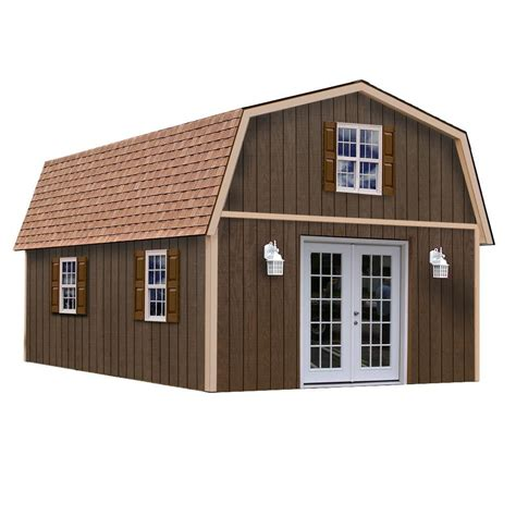 Best Barn Sheds by Best Barns Richmond 16x24 Wood Shed Free Shipping