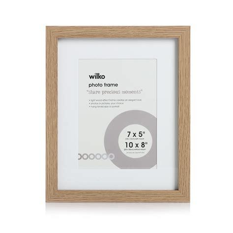 wilko light wood effect photo frame 10 x 8in times uk 163 5 50
