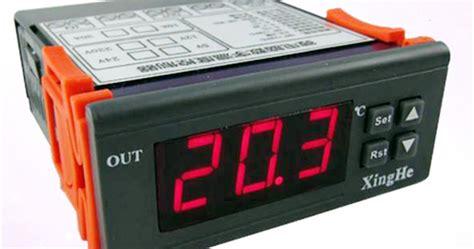 Aquarium Aquascape Lu Led Yang 18 W penggunaan modul thermostat digital 220 volt model w2028