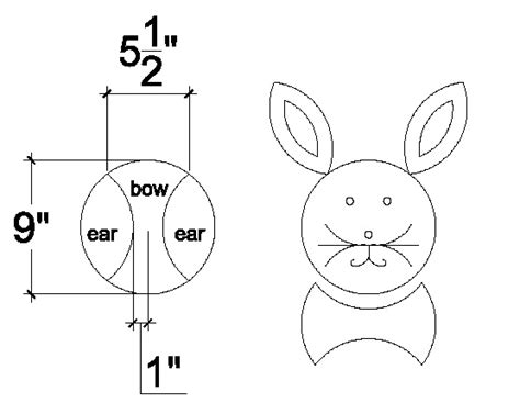 best photos of easter bunny cake template bunny cake cut