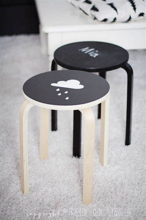 hack and paint the best ikea stool hacks to steal petit small