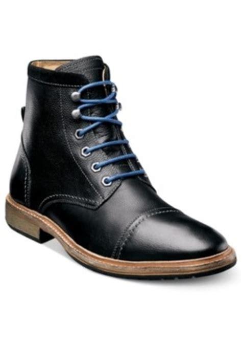 florsheim florsheim lace up cap toe boots s