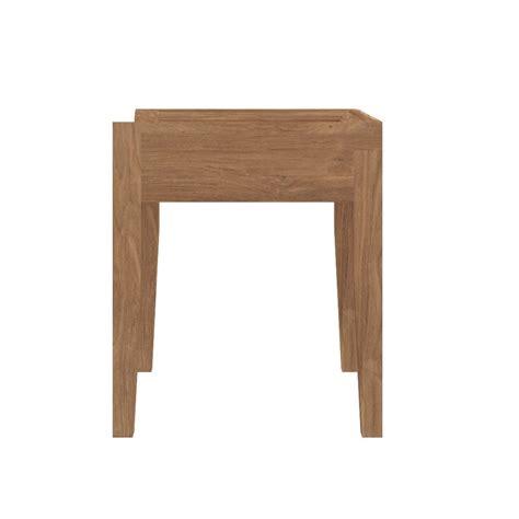 sgabello basso cuba sgabello basso ethnicraft in teak altezza seduta