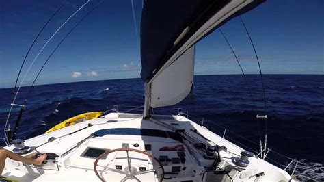 catamaran sailing part 1 sailing to namena fiji part 1 of 3 youtube