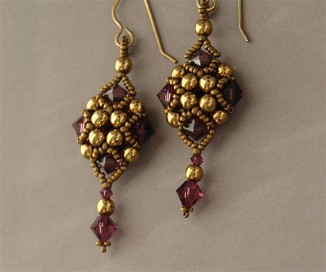 Handmade Jewelry Tutorials - 1006 best beading earrings images on beaded