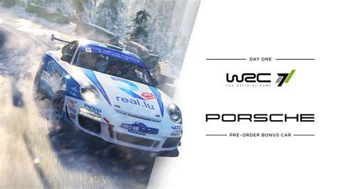 Wrc 7 The Official Pc wrc 7 porsche confirmed inside sim racing
