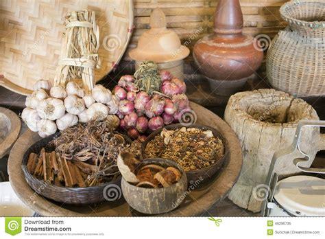 traditional kitchen thai style stock photo image 46296735