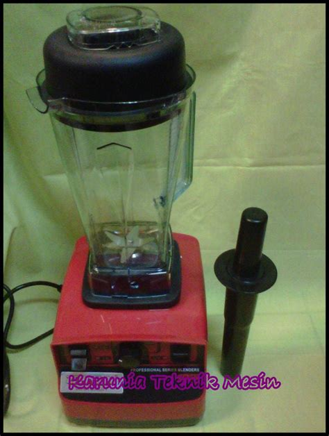 mesin blender fomac heavy duty
