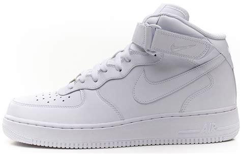 imagenes nike blancas nike air force 1 mid zapatillas deportivas de piel blanca