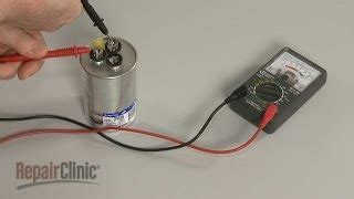 how to test dryer capacitor how to test a capacitor for an electric motor with a multimeter видео из игры майнкрафт