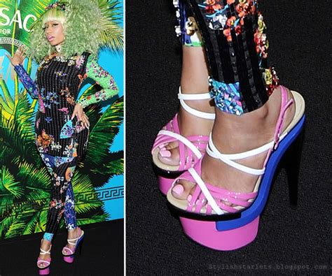 nicki minaj s shoe stylish starlets