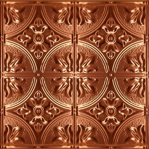 1204 solid copper ceiling tile 2ft x 2ft ceiling tile