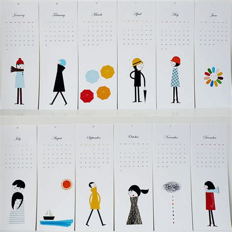 design inspiration calendar 35 creative calendar design inspiration the design work