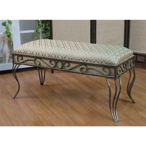large upholstered bench 4d concepts large upholstered bench 136327 living room