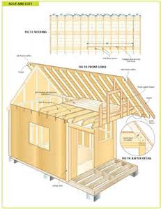Cabin Blueprints Free by Free Wood Cabin Plans Pictures To Pin On Pinterest