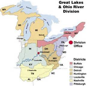 great lakes and ohio river division gt about gt offices and