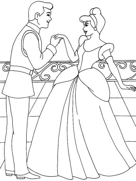 imagenes a blanco y negro de princesas dibujos animados para colorear cenicienta para ni 241 os