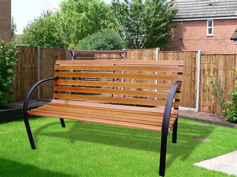 park bench seats new elegant 3 seater wooden slatted garden outdoor park