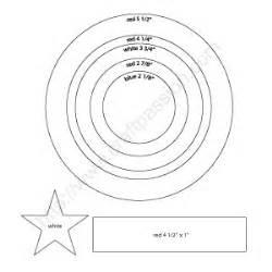 shield template pdf diy captain america s shield how to make craft