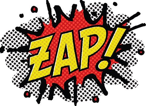 T Shirt Zap Comic Effect zap clipart clipart suggest