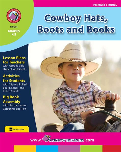 luckiest cowboy of all two books for the price of one happy cowboy hats boots and books grades k to 2 print book