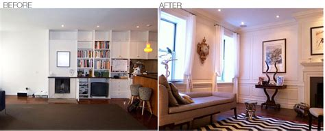 before and after decor before after area interior design