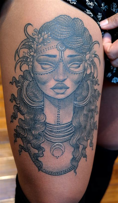 african queen tattoo golish search beautiful