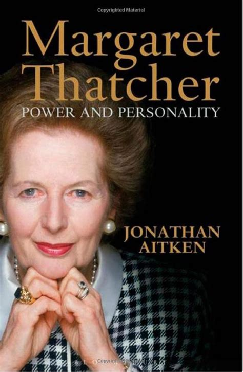 biography book margaret thatcher margaret thatcher power and personality by jonathan