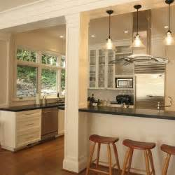 kitchen columns add a column and extend the counter out push the end