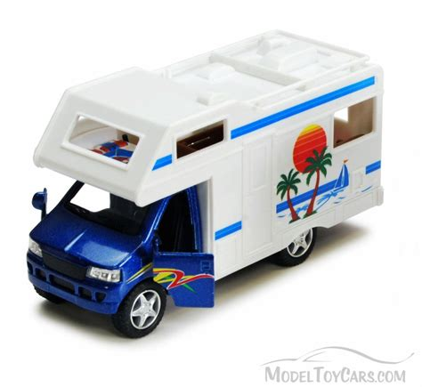blue rv cer blue kinsmart 5252d 5 quot diecast model car