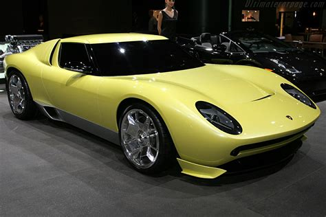 Lamborghini Miura Concept by 2006 Lamborghini Miura Concept Images Specifications