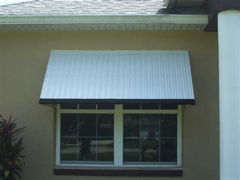 Metal Awning by Aluminum Window Aluminum Window Awnings For Home