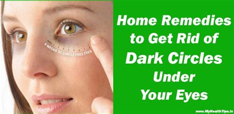 Get Rid Of That Icky Eyed Look by How To Lighten Those Circles The Naturally