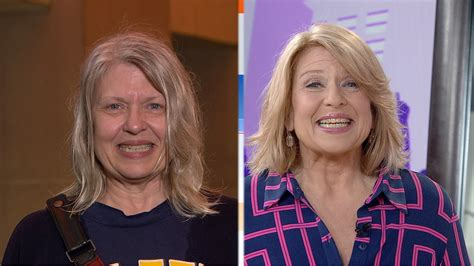 kathie lee and hoda who does the makeovers shazam woman wows friends with makeover today com