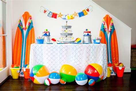 This Beach  Ee  Birthday Ee   For Twins Is Double The Fun Evite