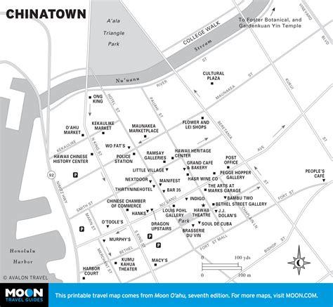 printable map honolulu printable travel maps of o ahu moon travel guides